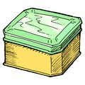 Free Box For Tea Royalty Free Stock Photos - 27496928