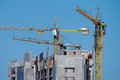 Free Buildings Under Construction With Cranes Stock Photo - 27498880