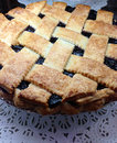 Free Home Made Black Berry Blue Berry Pie Royalty Free Stock Image - 27499116