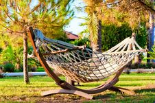 Hammock To Relax Royalty Free Stock Photos