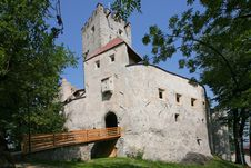 Free Brunico Castle. Brunico In South Tyrol External Stock Photos - 27491973