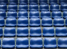 Free Chairs In Stadium Royalty Free Stock Images - 27492949