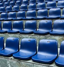 Free Chairs In Stadium Stock Images - 27492994