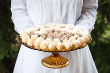 Dessert Balls Royalty Free Stock Image