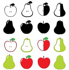 Free Apples And Pears Royalty Free Stock Images - 27498229