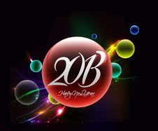 Free New Year 2013 Stock Photography - 27499262