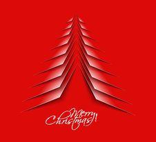 Free Abstract Christmas Tree Stock Photo - 27499370