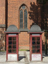 Free Two Telephone Booths Stock Images - 2751224