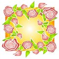 Free Pink Roses Background Pattern Royalty Free Stock Photography - 2759997
