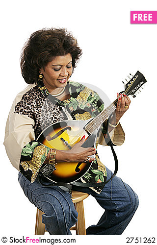 Free Playing Mandolin Stock Photography - 2751262