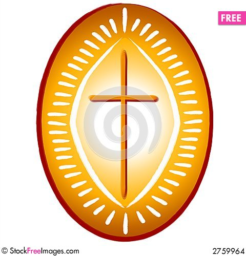 Gold cross christian symbol free stock photos amp images 2759964