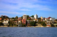 Sydney Seaside Residential Royalty Free Stock Image