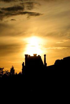 Free Sunset On Paris, France Stock Photos - 2750853