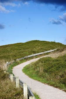 Free Walkway On Dunes Royalty Free Stock Photography - 2750967