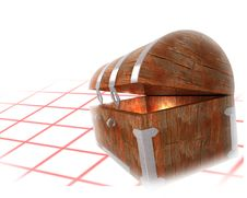 Free Old Chest Background Royalty Free Stock Images - 2751529