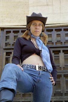 Free Hat Women Stock Photo - 2752650