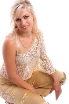 Free Young Attractive Blond Woman Royalty Free Stock Photography - 2752697