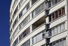 Urban Apartment Building Royalty Free Stock Image