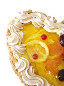 Free Part Of Lemon Cake Stock Photo - 2754020