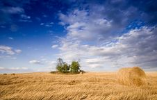 Free Bale In Landscape Royalty Free Stock Photos - 2754348