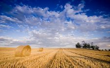 Free Bale In Landscape Royalty Free Stock Image - 2754536