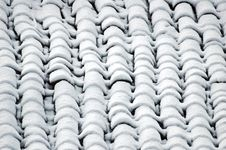 Free Snowy Roof Royalty Free Stock Photography - 2754817