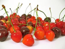 Free Red Cherry Royalty Free Stock Image - 2754906