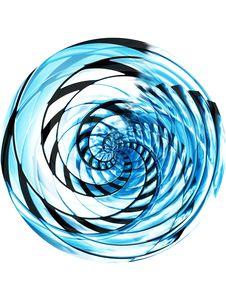 Spiral Globe Stock Image