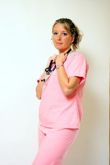 Free Pretty Nurse Stock Photo - 2755440
