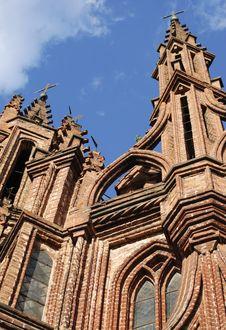 Gothic Spires Stock Image
