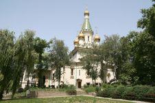 Sofia Russian Church Stock Photography