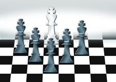 Free Chess In Black Royalty Free Stock Photo - 2758395