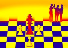 Free Chess Pieces Royalty Free Stock Photo - 2759065