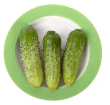 Free Cucumbers Royalty Free Stock Photography - 2759327