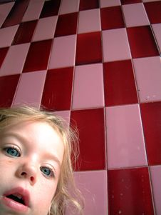 Free Cute Blond Little Girl Royalty Free Stock Images - 2759429