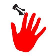 Sticked Hand