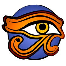 Free The Eye Of Horus Symbol 2 Royalty Free Stock Image - 2759966