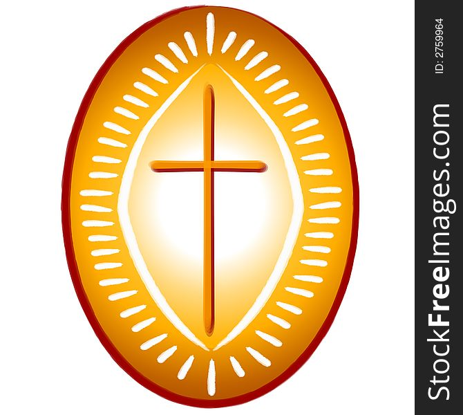 Gold Cross Christian Symbol Free Stock Images Photos 2759964