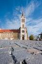 Free Big Church In Keszthely Stock Image - 27502011