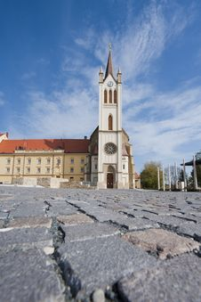Free Big Church In Keszthely Stock Image - 27502011