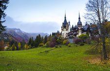 Free Peles Castle In Transylvania, Romania Royalty Free Stock Photo - 27503115