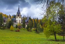 Free Peles Castle In Transylvania Royalty Free Stock Photography - 27503147