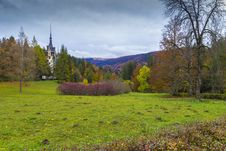 Free Peles Castle In Transylvania Royalty Free Stock Image - 27503256
