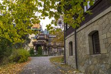 Medieval Building Stock Photo