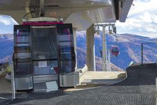 Cable Cars Station Stock Image