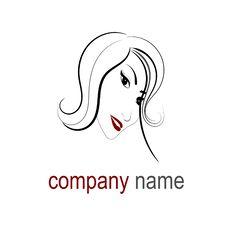 Free Hair Logo Royalty Free Stock Images - 27504169