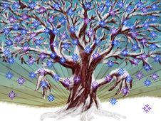Free Winter Tree Stock Photo - 27504690