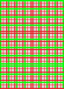 Green Red Pattern Royalty Free Stock Images