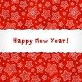 Free Hand-drawn Stars-snowflakes Greetings Card Stock Photo - 27513540