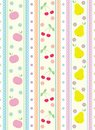 Free Seamless Fruits Background Stock Photos - 27519293